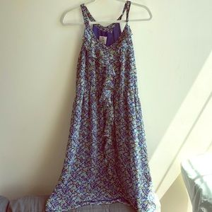 Floral Anthropologie Dress